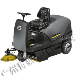 Karcher Driving type cleaning and cleaning vehicle